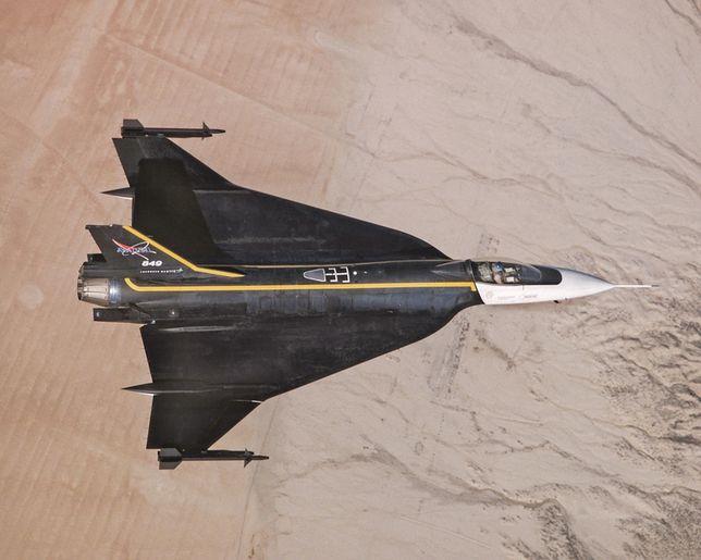 F-16XL: koncepcja F-36 powiela układ aerodynamiczny starej, eksperymentalnej wersji F-16