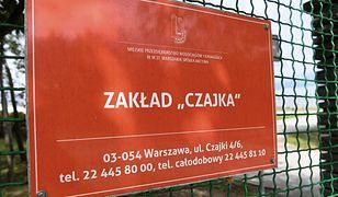 Spalarnia osadów w Czajce nie działa od grudnia 2018 r.