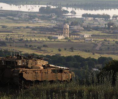 Czołgi na granicy izraelsko-syryjskiej