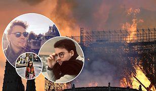 Notre Dame. Polacy o pożarze świątyni