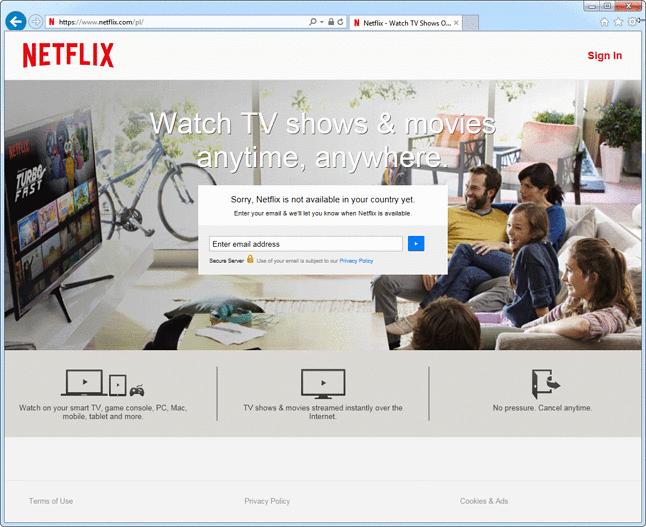 Przepraszamy, Netflix nie jest jeszcze dostępny w twoim kraju.
