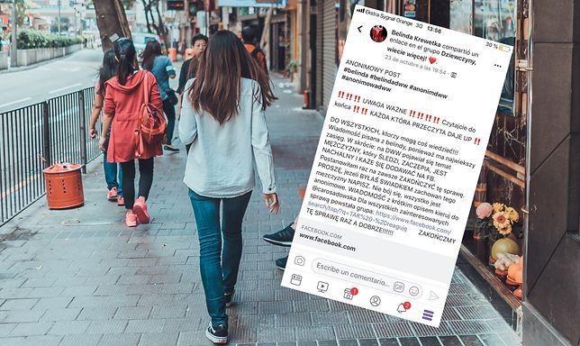 Młode kobiety, które doświadczyły nękania w miejscach publicznych, chcą ostrzec inne.