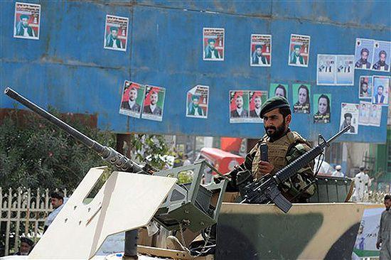 Ruszyły wybory prezydenckie w Afganistanie