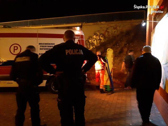 Ornotowice. 12-latka została znaleziona za sklepem obok nasypu kolejowego