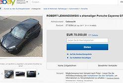 Niemiec nie płakał, jak sprzedawał. Auto Lewandowskiego robi furorę na ebayu