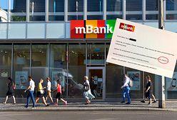 Zaskakujący list z mBanku. Podwójne przeprosiny klienta za błąd w przelewie na 1 grosz