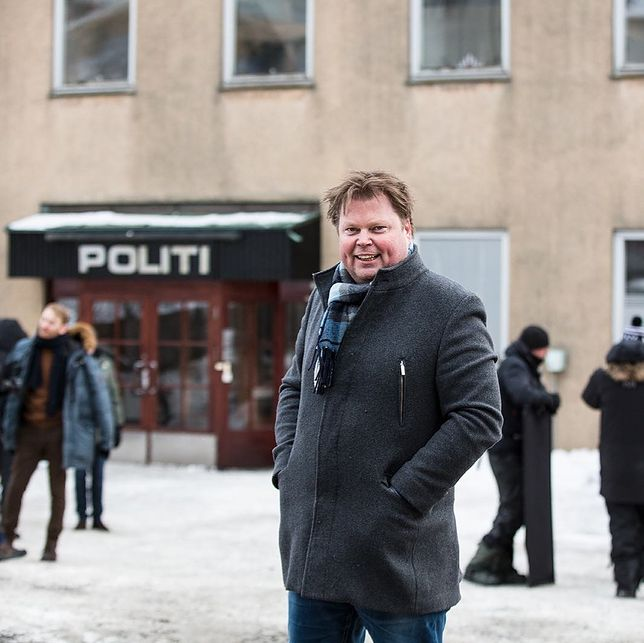 Jørn Lier Horst był policjantem w Norwegii