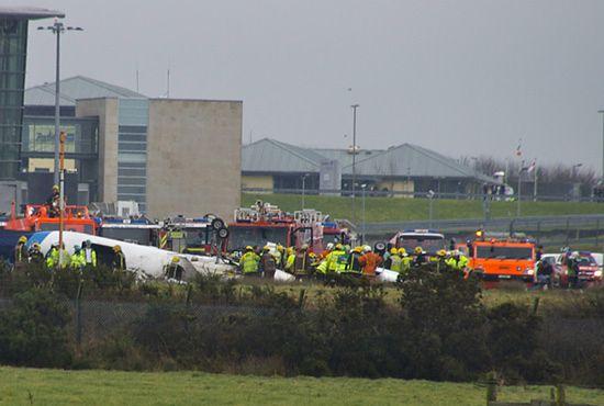Katastrofa samolotu w Irlandii - sześć osób nie żyje