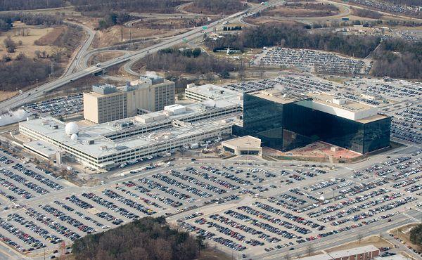 Budynek NSA w Fort Meade