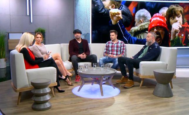 #dzieńdobryPolsko: Aktorzy Marek Kaliszuk i Wojciech Medyński o tym, czy faceci płaczą?