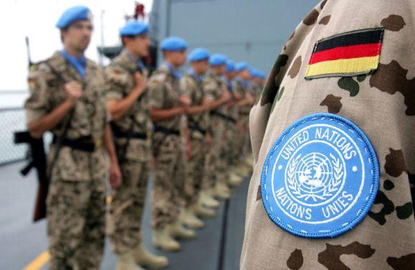 Niemieccy żołnierze biorący udzał w misji UNIFIL w Libanie