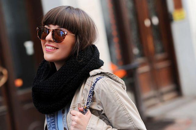 Fryzura damska z grzywką to szybki sposób na zmianę looku