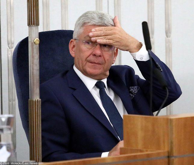 Stanisław Karczewski - to jemu przygląda się teraz opozycja