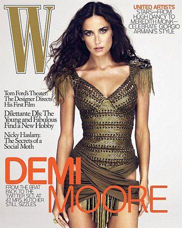 Demi Moore: był retusz czy nie?