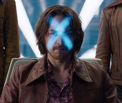 James McAvoy łysym mutantem