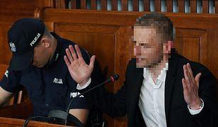 Marcin P. w sądzie