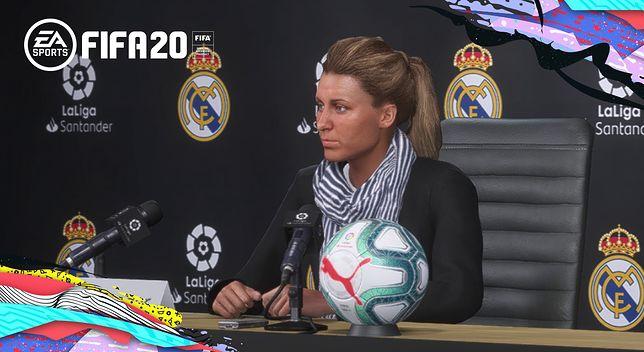 FIFA 20 - po raz pierwszy w roli menadżera możemy zobaczyć kobietę