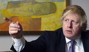 Burmistrz Londynu Boris Johnson