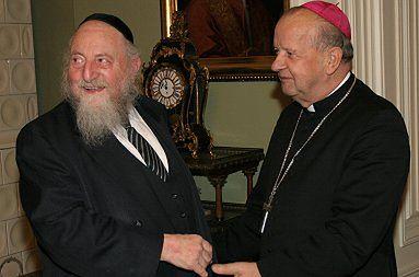 Nowojorski rabin z wizytą u abp. Dziwisza