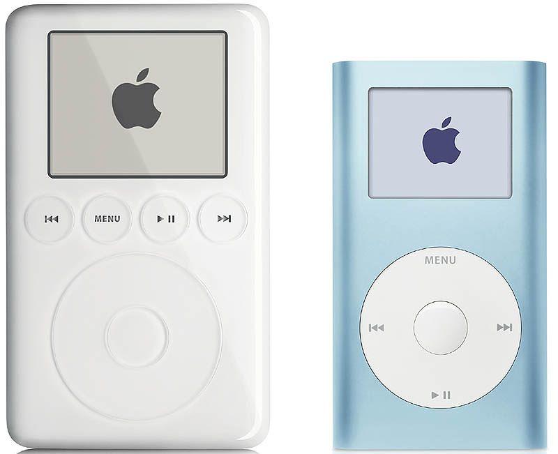 iPod mini i nano - mała, wielka rzecz