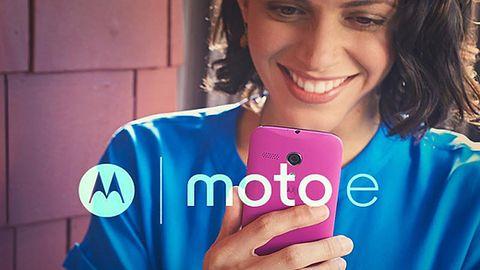 [Aktualizacja] Motorola Moto E trafia do sprzedaży. Dobry smartfon za ok. 500 zł