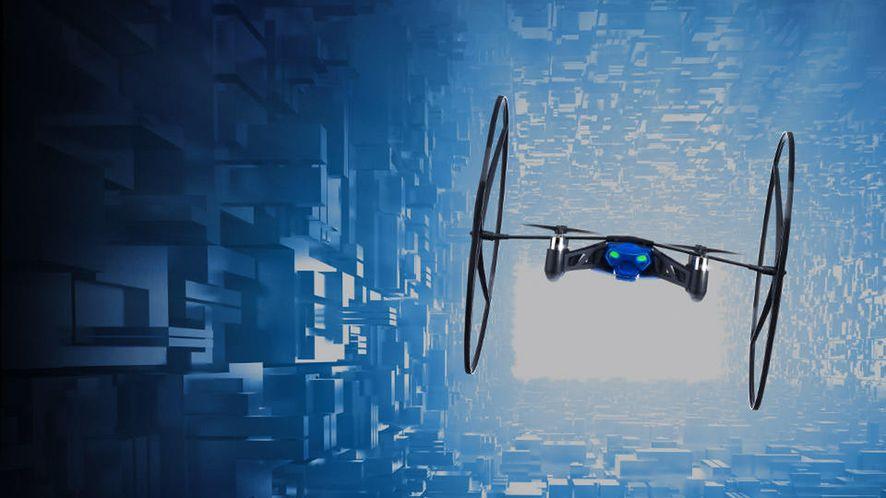 Co lata, skacze i kręci filmy, czyli drony firm Parrot i DJI na CES