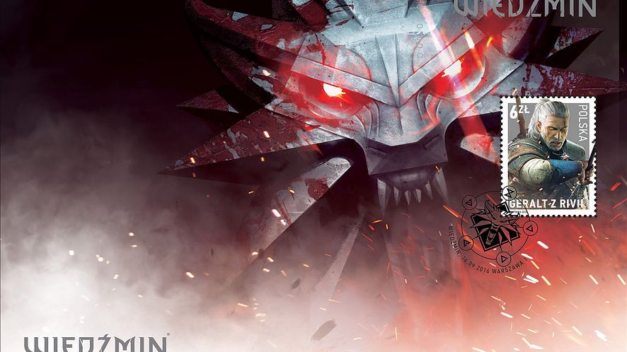 Wiedźmin i Poczta Polska: Geralt trafia na znaczki pocztowe