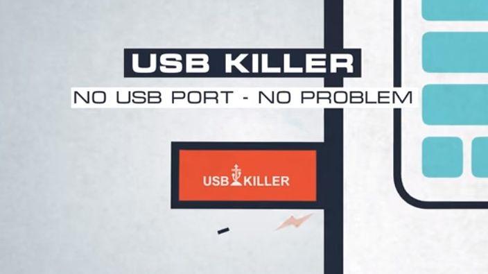 USB Killer zniszczy porty USB by chronić dane, rodzinę i firmę