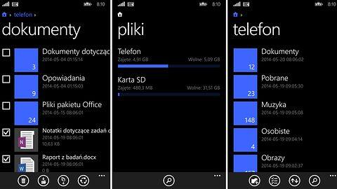 Microsoft wydaje oficjalny menadżer plików na Windows Phone 8.1