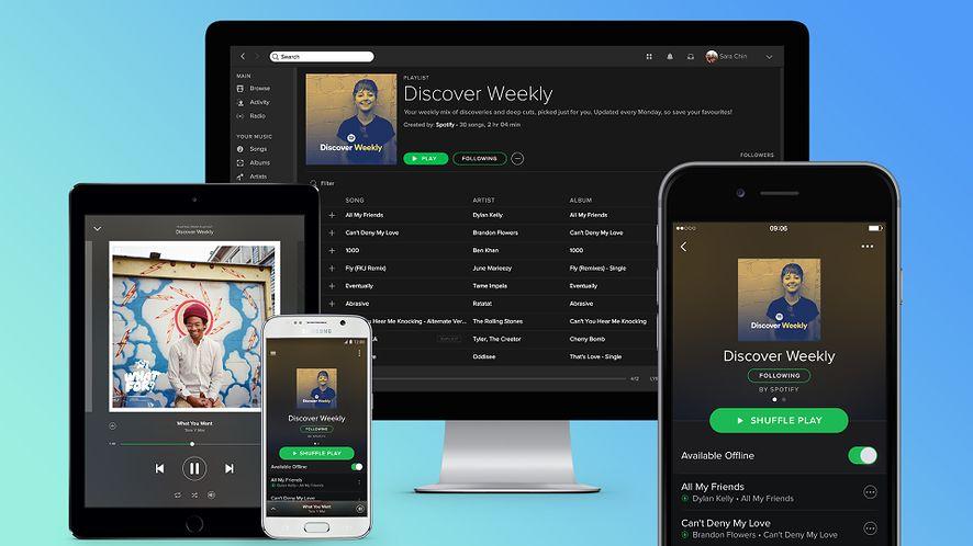 Spotify: sponsorowane piosenki dla użytkowników bez konta premium
