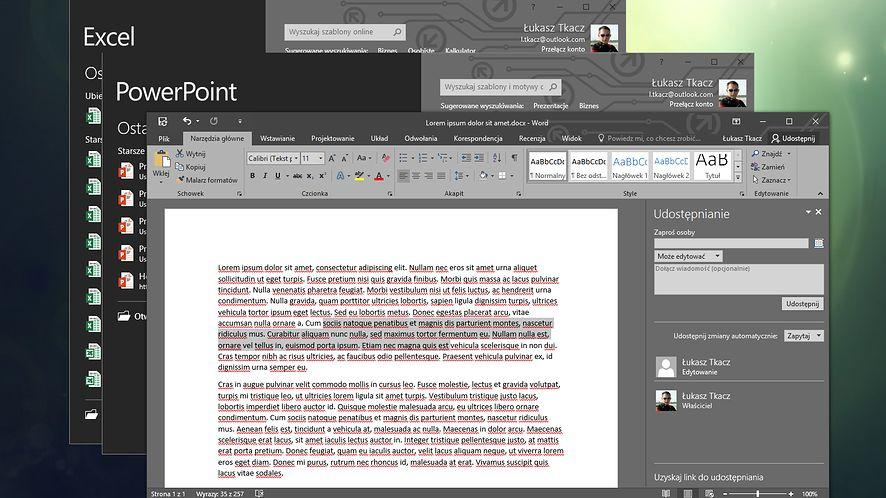 Debiutuje Office 2016: nowy pakiet kładzie nacisk na pracę w chmurze
