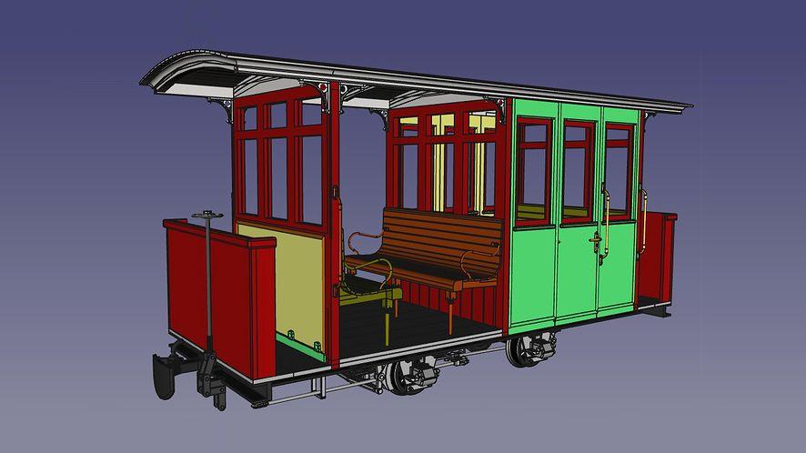 Garden Railway Coach O&K, galeria
