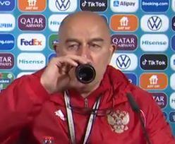 Trener Rosji zażartował z gestu Ronaldo. Internauci pękają ze śmiechu