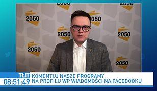 """Obostrzenia w Polsce. Szymon Hołownia: uruchomiono """"maszynę losującą"""""""