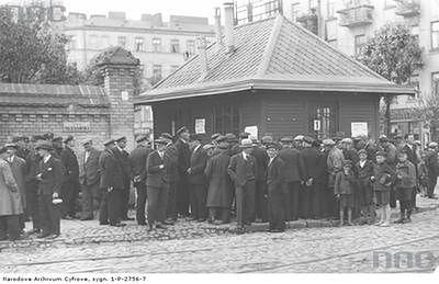 Strajk tramwajarzy w Warszawie