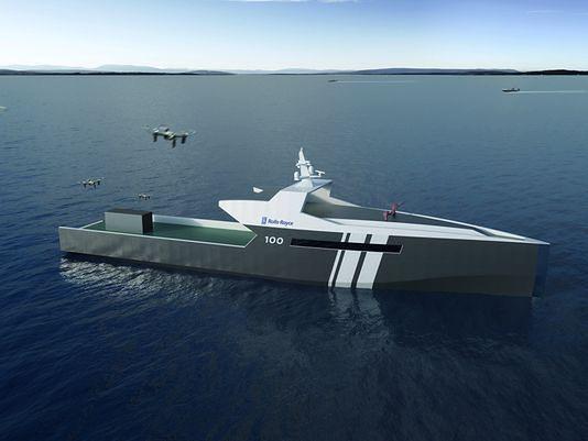 Koncept okrętu od Rolls-Royce'a