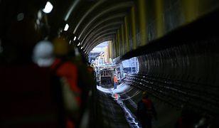 Kolejna awaria podczas budowy II linii metra