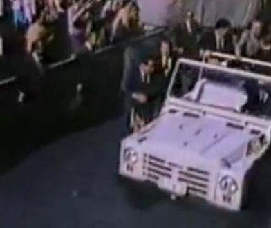 Można zobaczyć auto, w którym postrzelony został Jan Paweł II