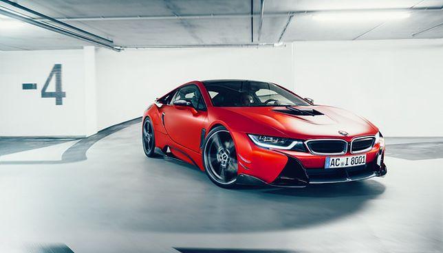 Genewa 2017: BMW i8 od AC Schnitzer