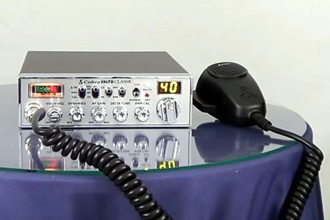 Nielegalne radio CB i antyradar