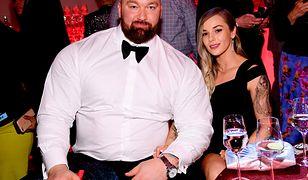 Hafþór Júlíus Björnsson i Kelsey Morgan Henson od pół roku są małżeństwem