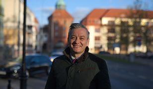 Robert Biedróń złożył życzenia TV Trwam