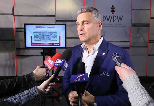 Konflikt związkowców z prezesem PWPW Piotrem Woyciechowskim trwa od wielu miesięcy.