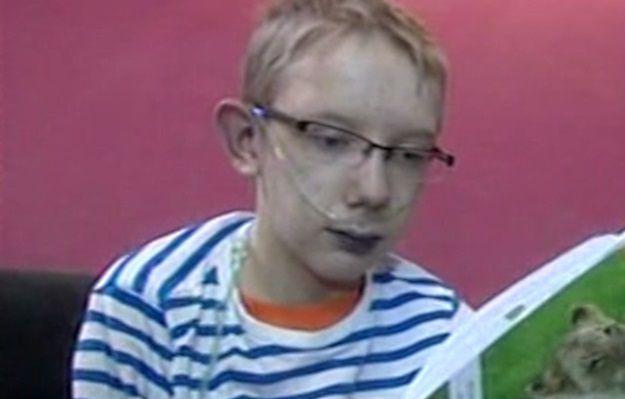 15-letni Wojtek z Zielonej Góry potrzebuje pomocy