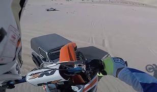 #dziejesiewmoto: nietypowy skok motocyklem, o włos od wypadku i nowa Toyota Supra