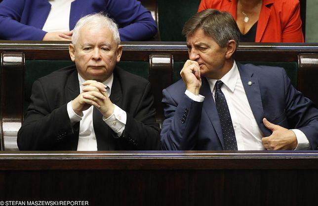 Kaczyński o lotach marszałka Kuchcińskiego