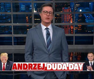 """""""Dzień Andrzeja Dudy"""" w amerykańskim talk-show"""