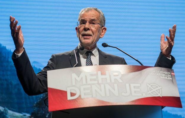 Alexander Van der Bellen dostał 53,6 proc. głosów