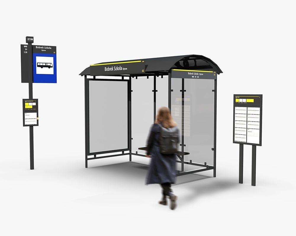 Śląskie. Zarząd Transportu Metropolitanego zatwierdził nowy wzór informacji przystankowej.