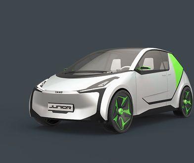 Samochód Junior Łukasza Myszyńskiego, jednego z laureatów konkursu na projekt polskiego samochodu elektrycznego